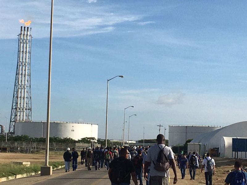 En la refinería de Cartagena compraron una planta de segunda y dejó de funcionar a la semana
