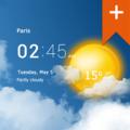 Transparent clock weather Pro.Apk
