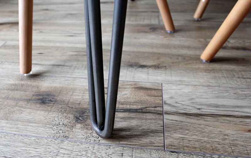 Durable flooring is one of 2020's top trends in kitchen flooring