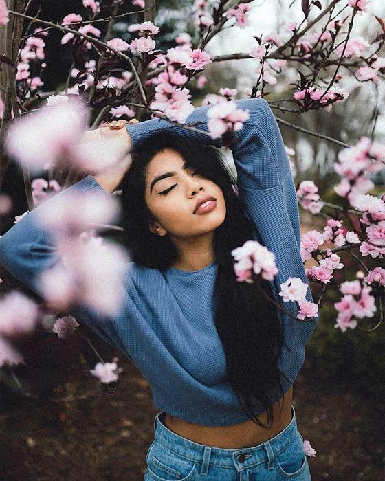 50+ Poses divinas para fotos tumblr