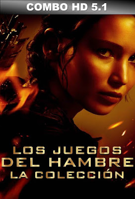 COMBO The Hunger Games DVDHD DUAL LATINO 5.1 + SUB Parte 1