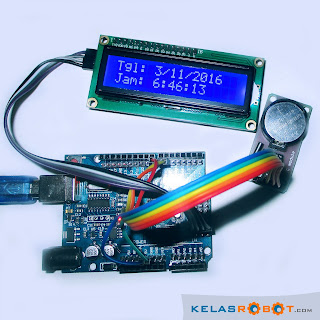 Membuat Jam Digital Dengan Arduino Uno, RTC DS1302, dan LCD i2C!