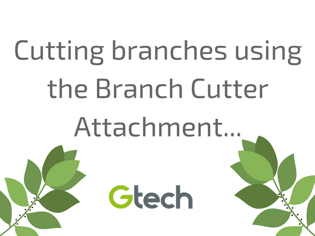 Using the Branch Cutter Attachment of the GTech HT20 Cordless Hedge Trimmer