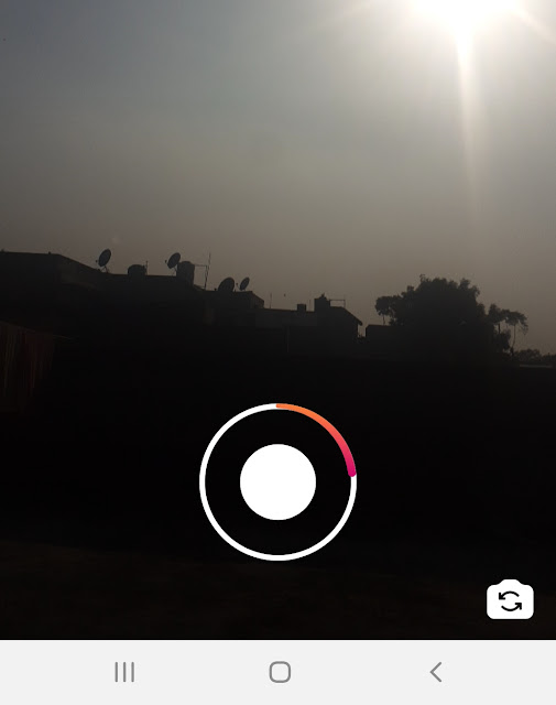 Record video with background music on Instagram