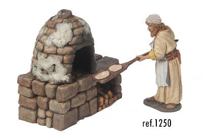 horno con panadero