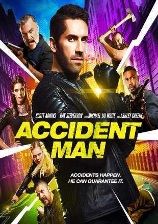 Accident Man 2018 Full English Movie Download BRRip 1080p