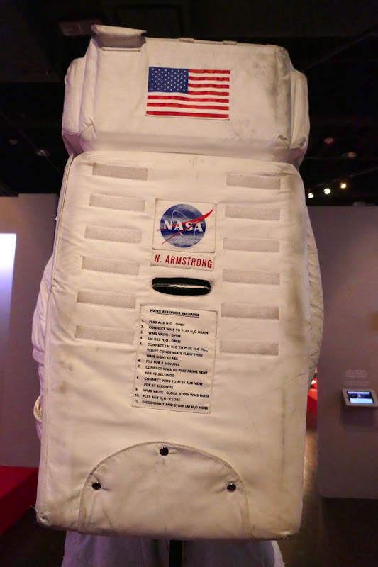 First Man Neil Armstrong Apollo A7L NASA spacesuit back