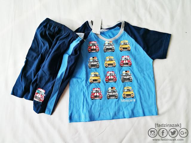 Beli baju kanak-kanak