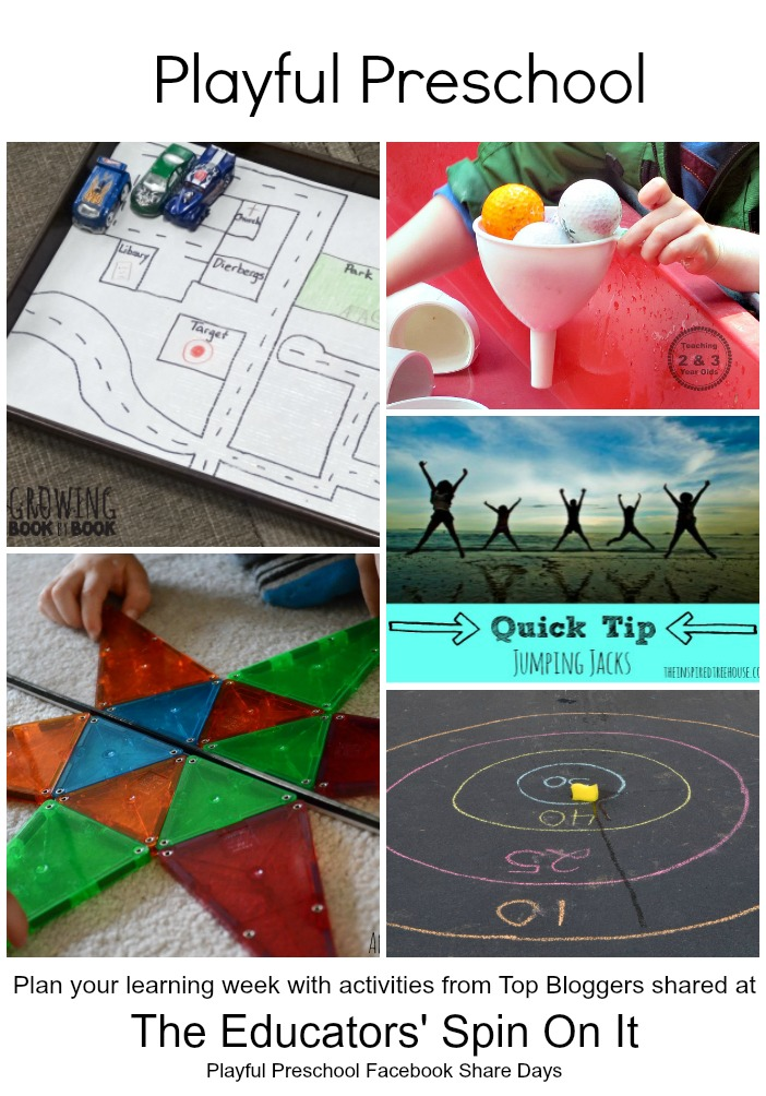 The Educators' Spin On It: Preschool Learning Activities ...