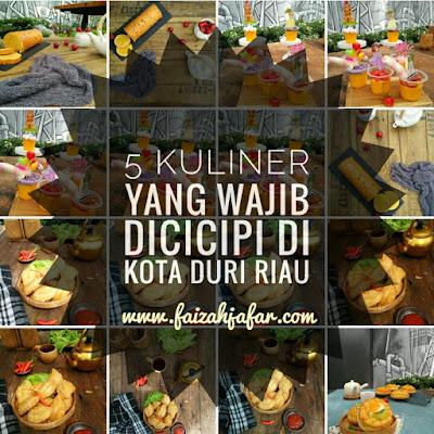 5 kuliner yang wajib dicicipi di Duri Riau