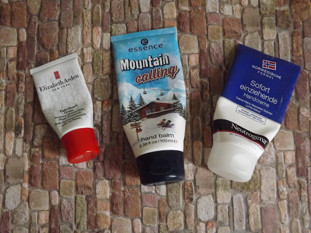 Elizabeth Arden - Eight Hour Cream, essence - Mountain calling hand balm, Neutrogena - Sofort einziehende Handcreme