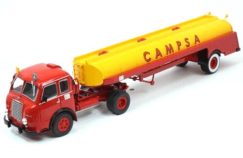 pegaso mofletes 1/43 campsa, coleção caminhões articulados altaya, coleção caminhões articulados planeta deagostini, coleção caminhões articulados 1:43