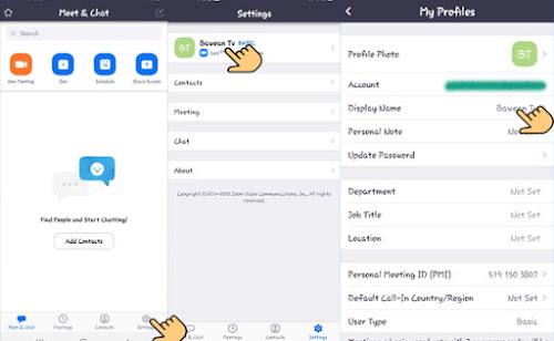 2 Cara Mengganti Nama Profil Zoom Lewat HP Android Dengan Mudah