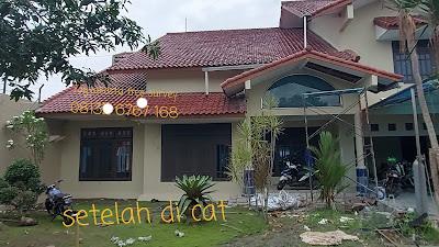 jasa tukang cat rumah dan gedung jogja: eksterior abu abu