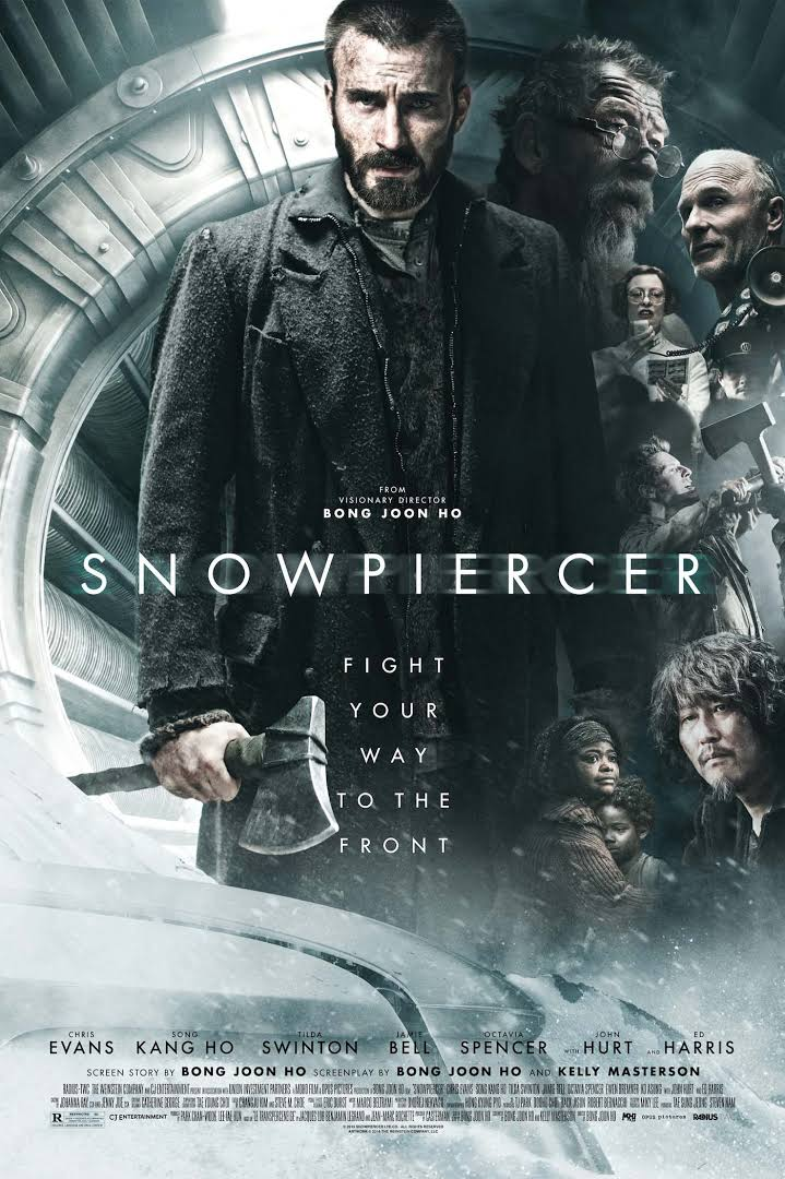 Snowpiercer 2013 Dual Audio Hindi 400MB BluRay 480p x264