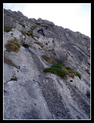 Vía Txema, Txindoki