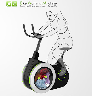 Bike Washing Machine - La ciclette-lavatrice