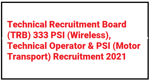 Gujarat PSI Recruitment 2021
