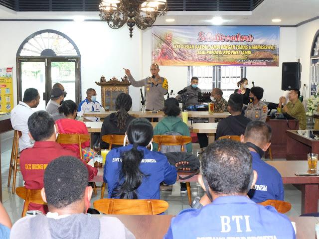 Kapolda Jambi, Irjen Pol. A. Rachmad Wibowo menggelar silaturahmi dengan Tokoh Masyarakat