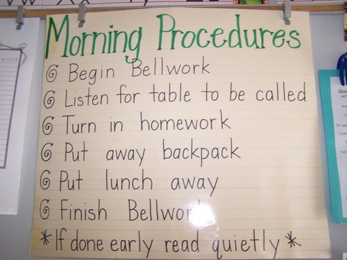 Gabriella's helpful toolbox: Procedures in the Classroom