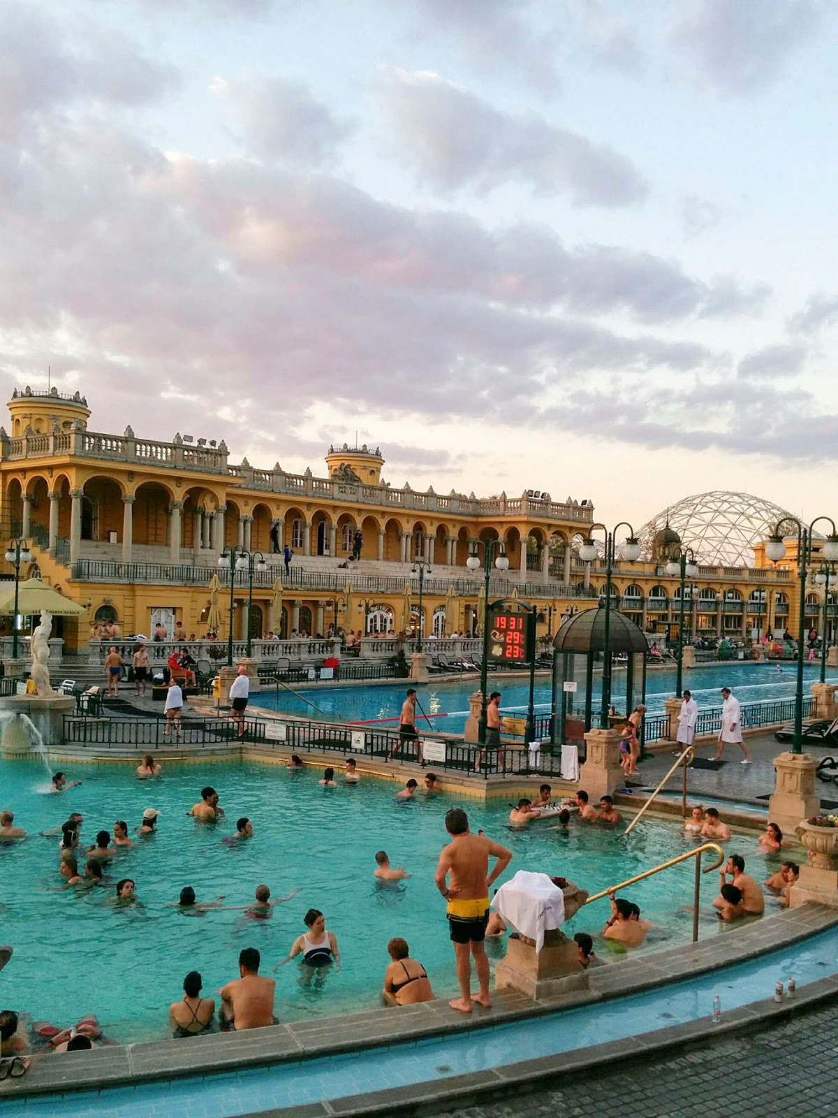 sunset budapest guide itinerary instagram worthy spot sights landmarks hungary szechenyi thermal baths