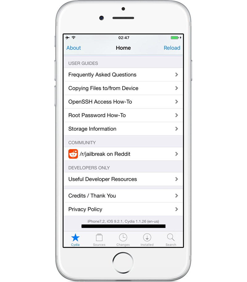 Jailbreak iOS 9.2.1 Compatibility via a browser-based utility.