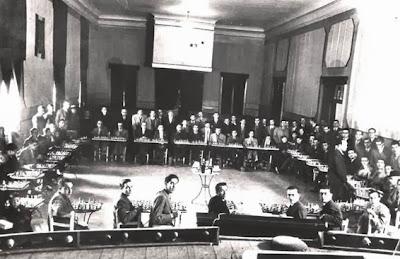 Sala del Teatro del Casal Católico de San Andrés en los años 50