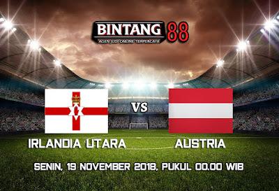 Prediksi Irlandia Utara vs Austria 19 November 2018