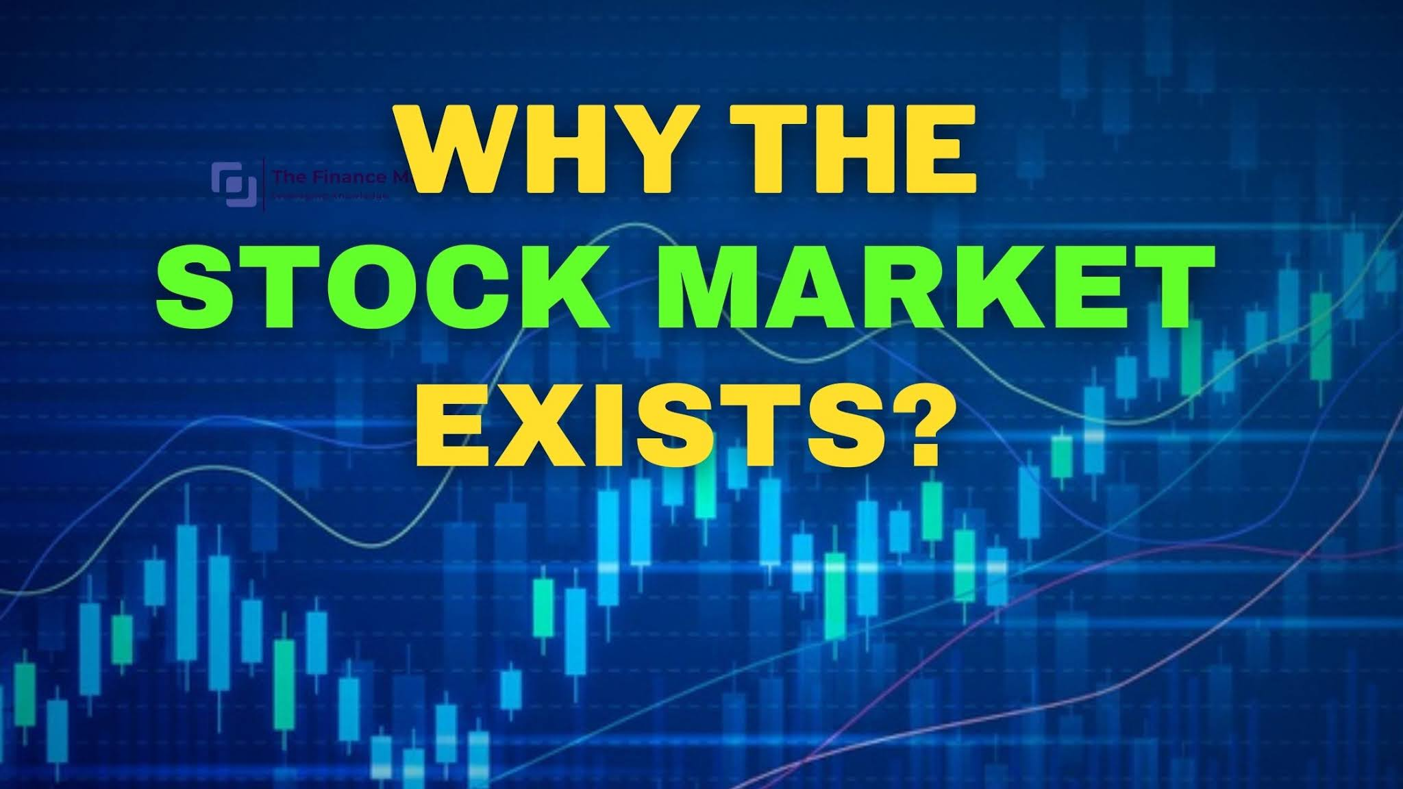 Why does the stock market exists?