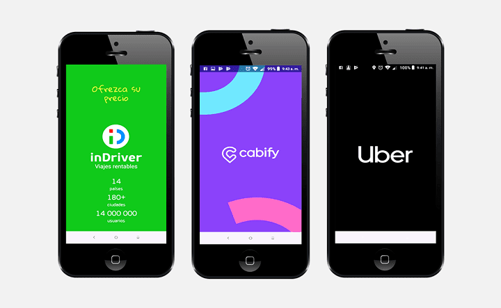 Apps viajes compartidos