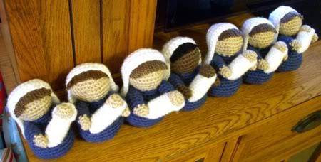 Christmas Nativity - The Cookie Snob | 228x450