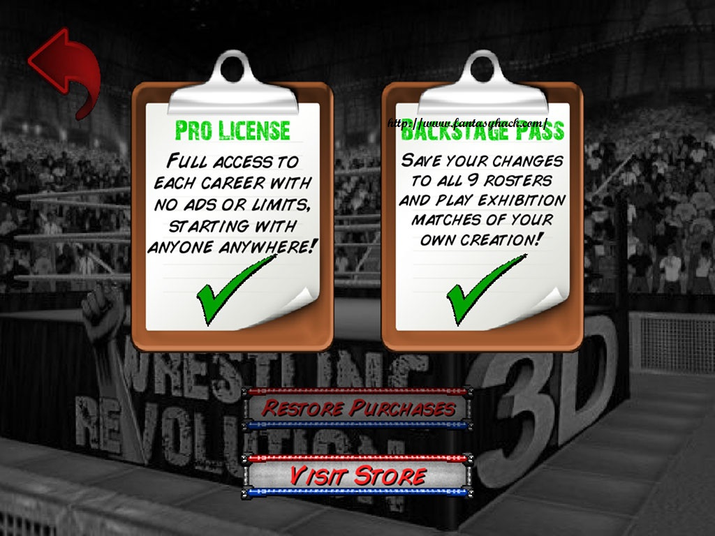 Download Free Game Wrestling Revolution 3D Hack (All