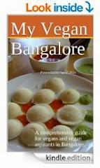 Bangalore city-specific vegan guide. Click the cover!