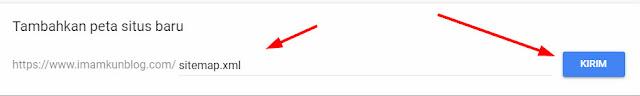 Cara Index Sitemap Blog ke Google Webmaster