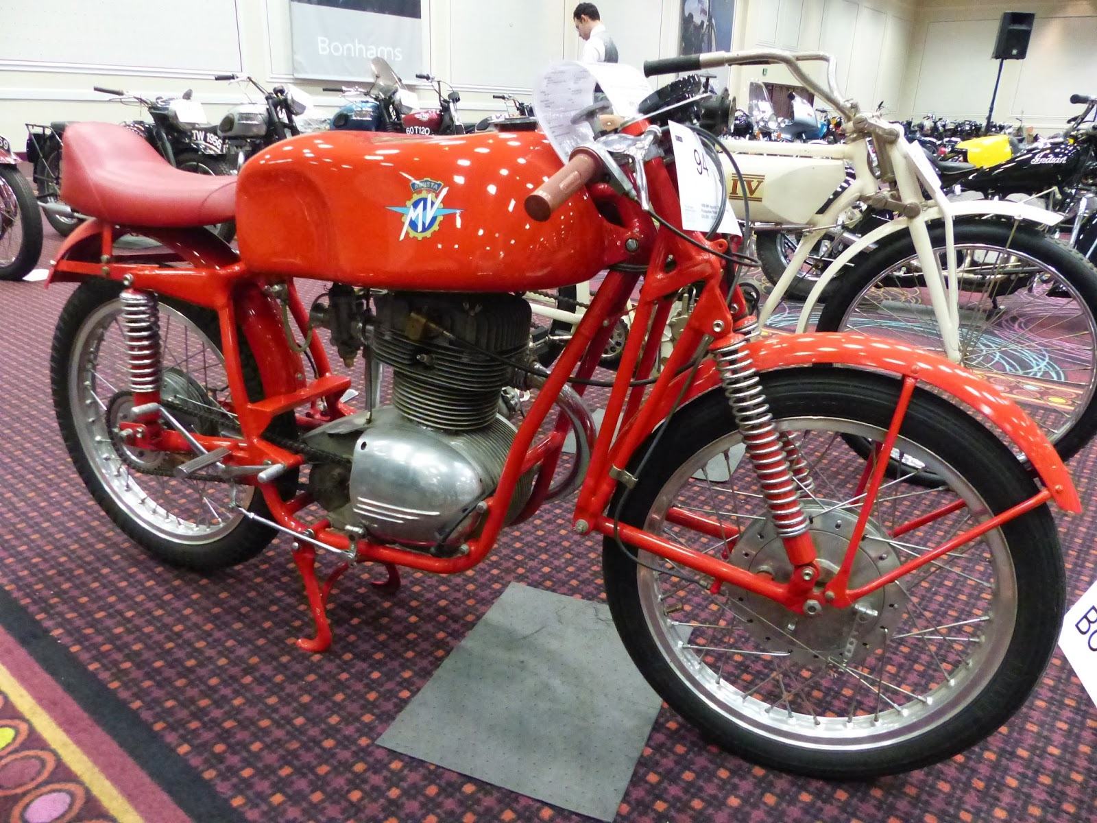 oldmotodude: 1956 mv agusta 175cc css squalo production road racer