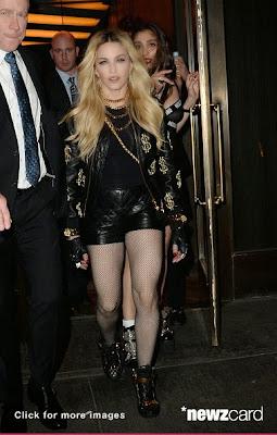 Madonna at Vanity Fair Post Oscars Bash: Snob or Slob