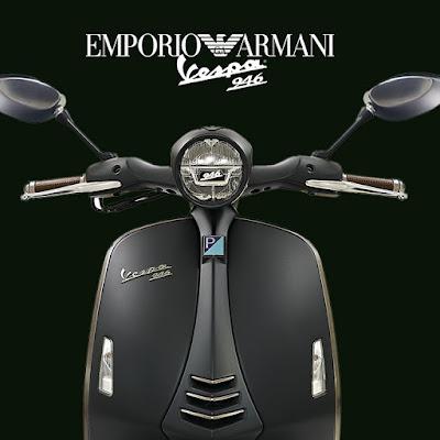 Vespa 946 Emporio Armani front look