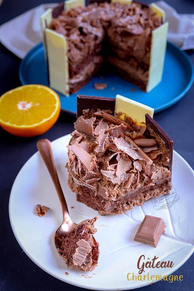 recette gateau praliné chocolat