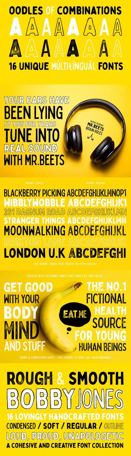 Free Font - Bobby Jones Free Font