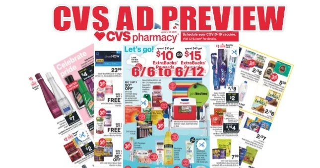 CVS Ad Scan 6/6 to 6/12