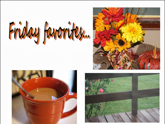 Friday Favorites... (9/20/13)