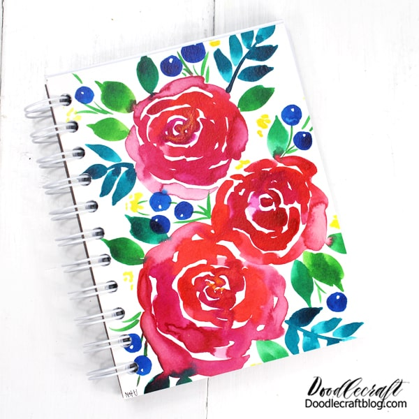 Make a wire bound notebook using The Cinch binding tool and just a few minutes.