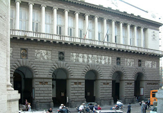 The Teatro di San Carlo in Naples, just around the corner from Piazza Plebiscito, remains an important opera house