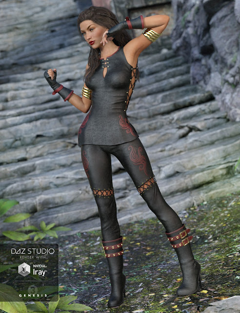 Annika Storm for Genesis 3 Female and Genesis 2 Female