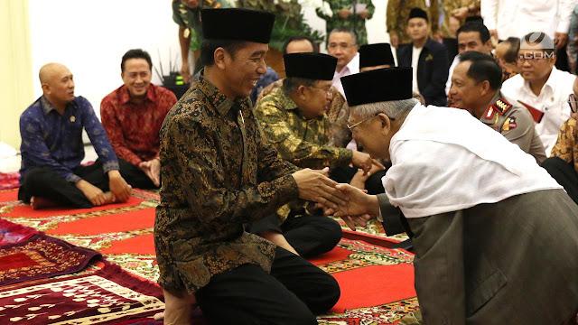 Kekaguman Ketua MUI dengan Kepribadian Jokowi, Gak Nyangka, Ternyata Begini Aslinya!
