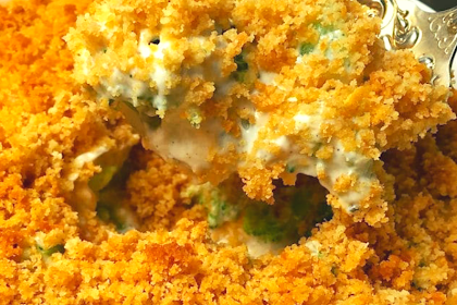 Ultimate Broccoli Cheese Casserole