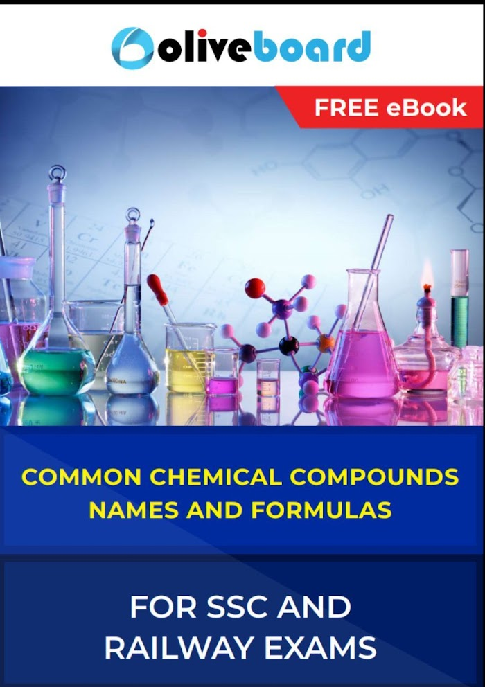 Common Chemical Compounds Name & Formula for SSC and RRB Exams PDF Download