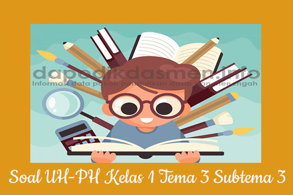 Soal UH PH Kelas 1 Tema 3 Subtema 3 Kurikulum 2013, Soal PH / UH Kelas 1 Tema 3 Subtema 3 Kurikulum 2013 Revisi Terbaru, Soal Tematik Kelas 1 Tema 3 K13 Subtema 3, Soal Ulangan Harian ( UH ) Kelas 1 Semester 1, Soal Penilaian Harian ( PH ) Kelas 1 Tema 3 Subtema 3