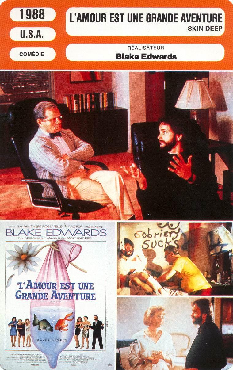 L'amour Est Une Grande Aventure : l'amour, grande, aventure, Affiches, Photos, D'exploitation, Bandes, Annonces:, L'amour, Grande, Aventure, (1988), Blake, Edwards, (01.05.1988, 07.1988)