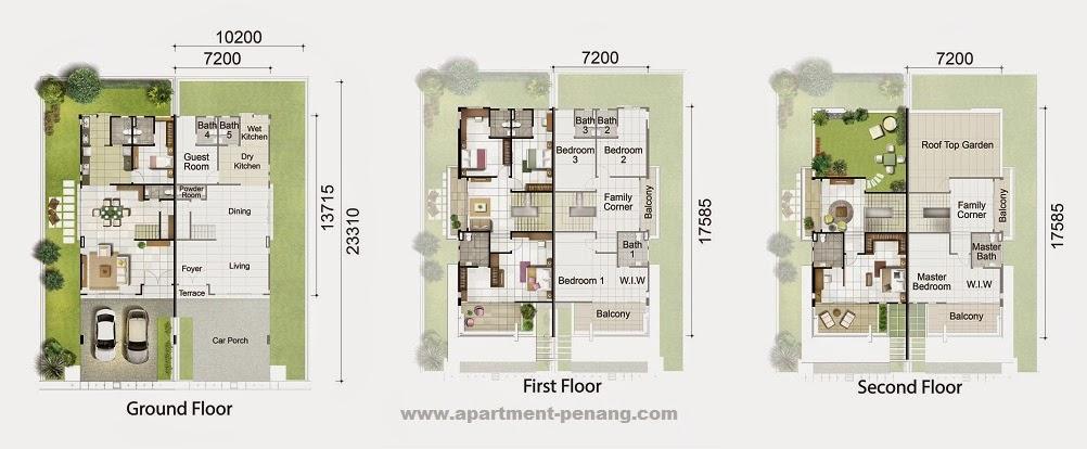Taman Villa Permai Apartment Penang Com